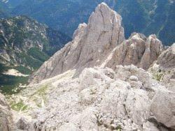 la valle di Rio Bianco